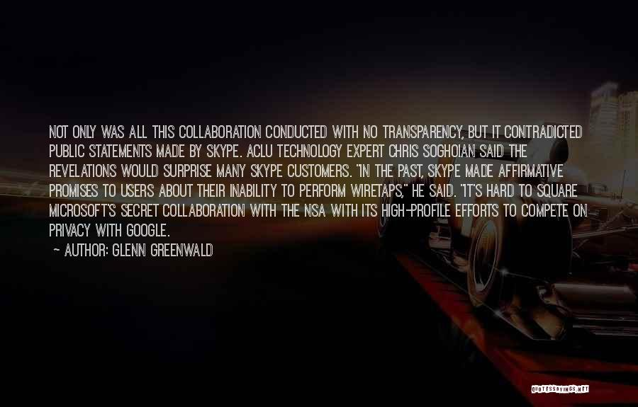 Revelations Quotes By Glenn Greenwald