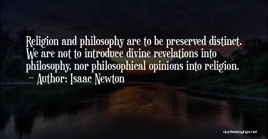 Revelations Quotes By Isaac Newton