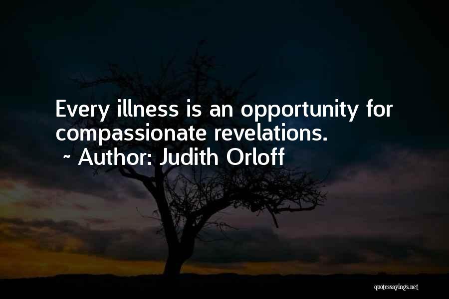 Revelations Quotes By Judith Orloff