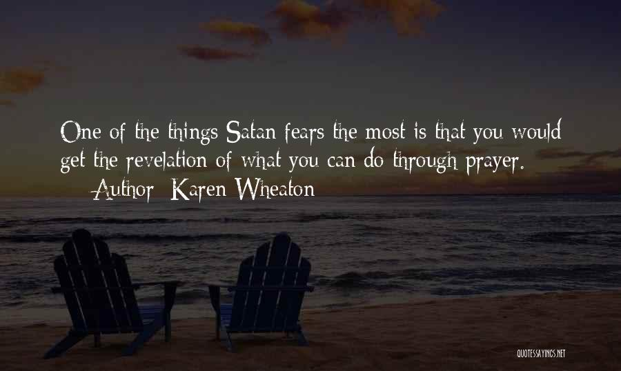 Revelations Quotes By Karen Wheaton