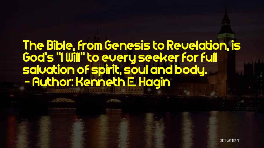 Revelations Quotes By Kenneth E. Hagin
