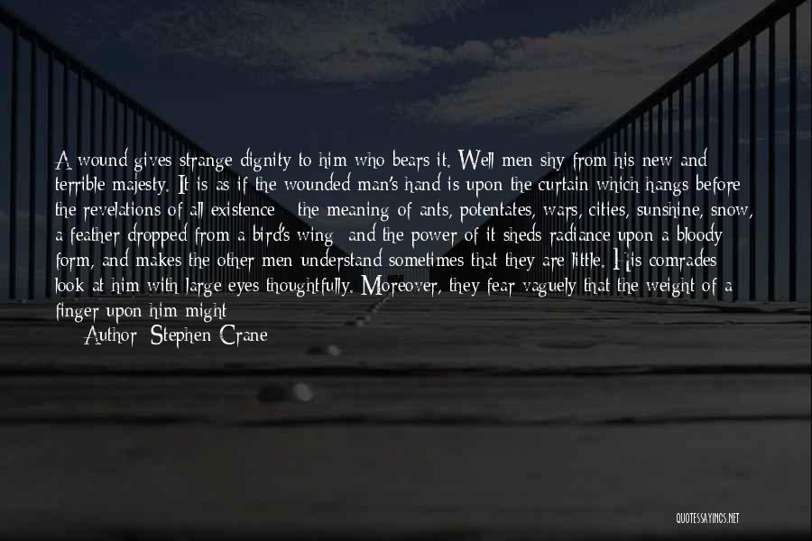 Revelations Quotes By Stephen Crane