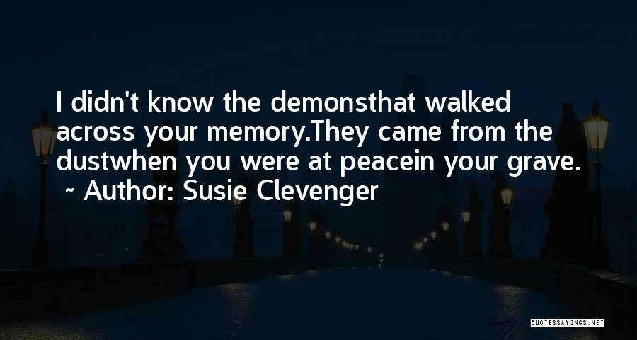 Revelations Quotes By Susie Clevenger