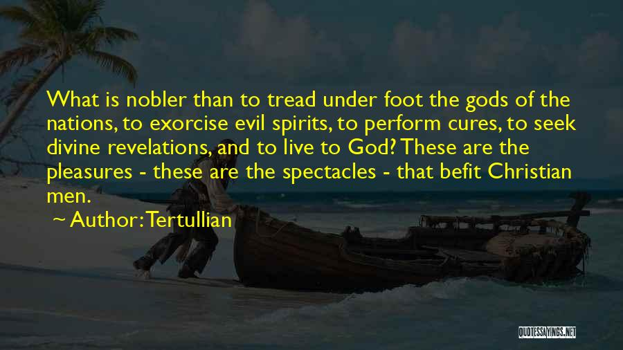 Revelations Quotes By Tertullian