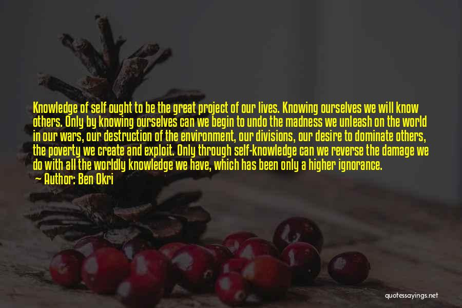 Reverse Inspirational Quotes By Ben Okri
