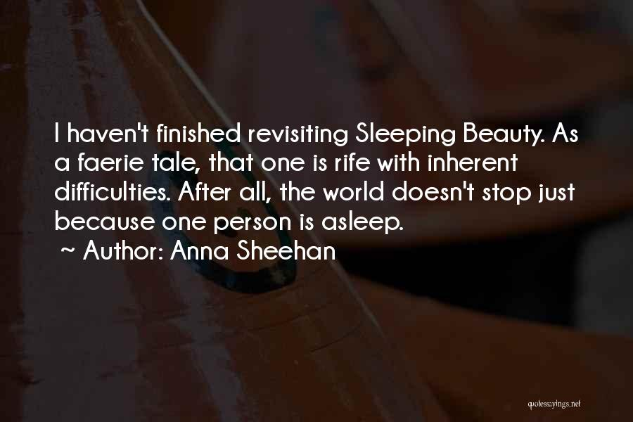 Revisiting Quotes By Anna Sheehan
