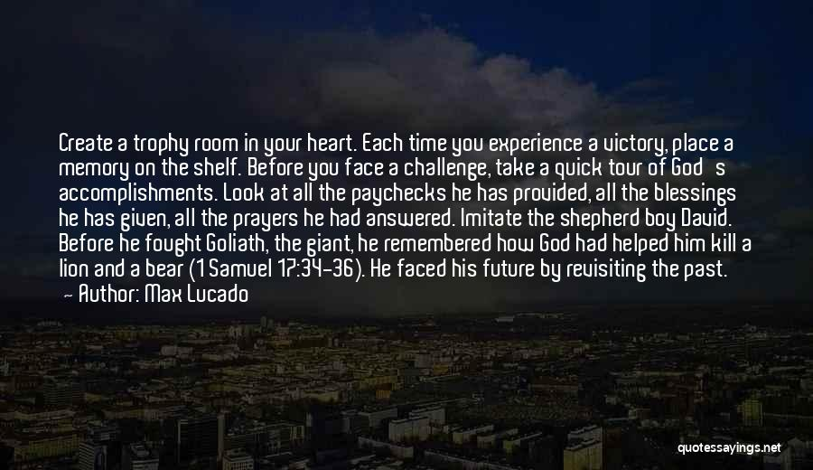 Revisiting Quotes By Max Lucado