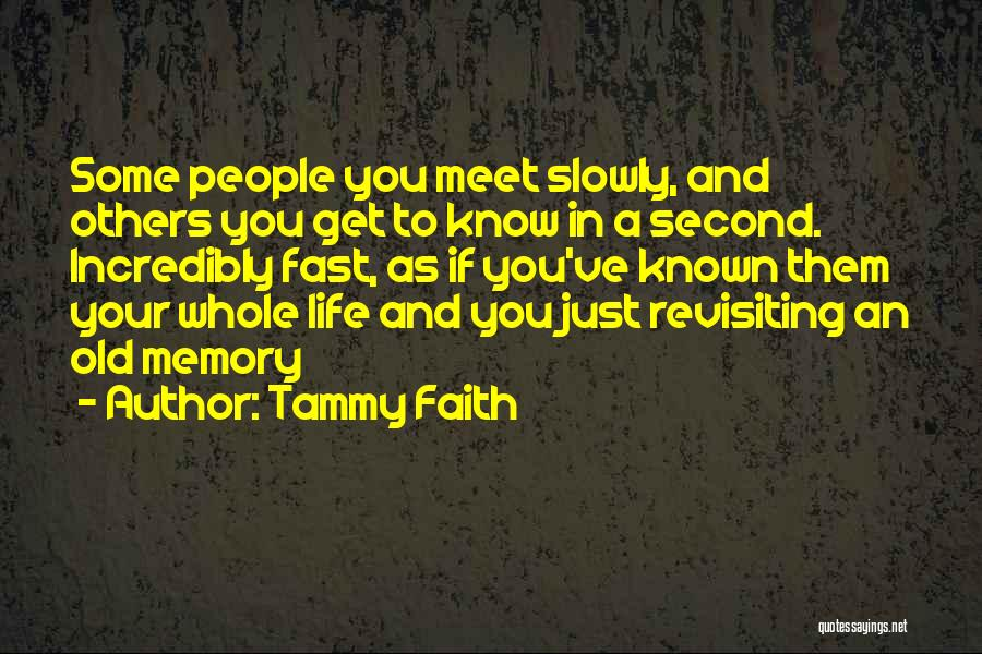 Revisiting Quotes By Tammy Faith