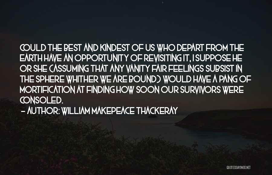 Revisiting Quotes By William Makepeace Thackeray