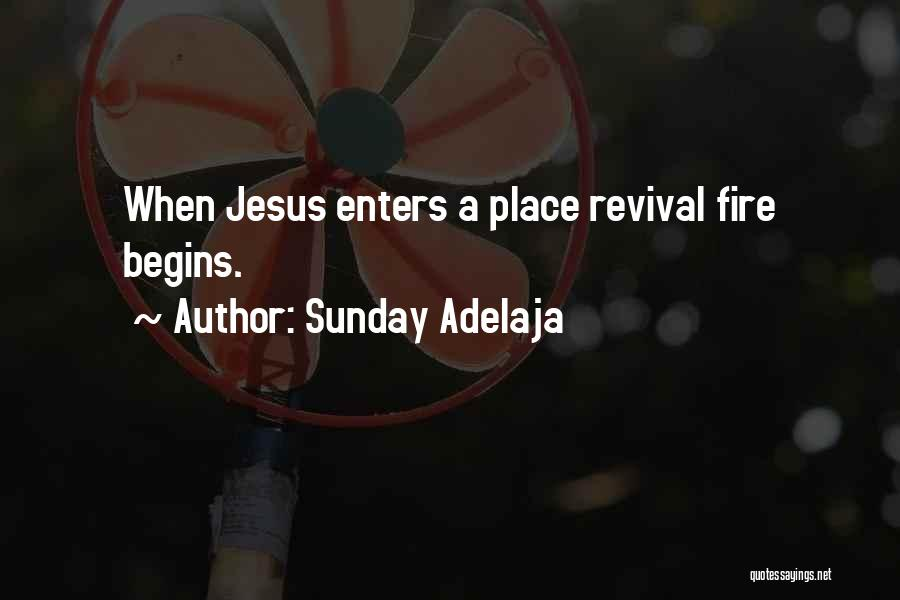 Revival Fire Quotes By Sunday Adelaja