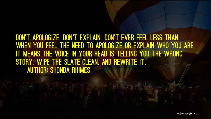 Rewrite Your Story Quotes By Shonda Rhimes