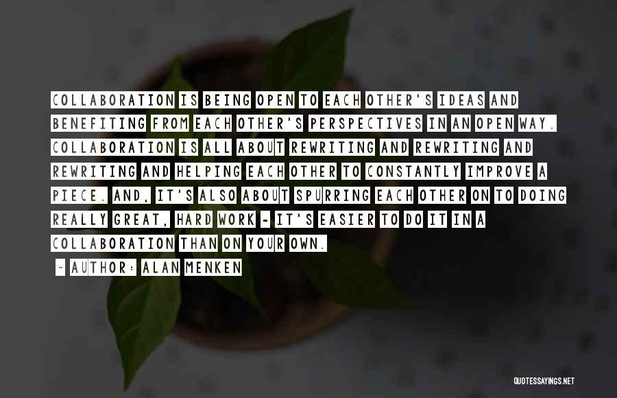 Rewriting Quotes By Alan Menken