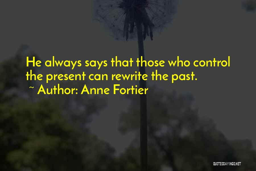 Rewriting Quotes By Anne Fortier