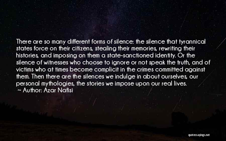 Rewriting Quotes By Azar Nafisi