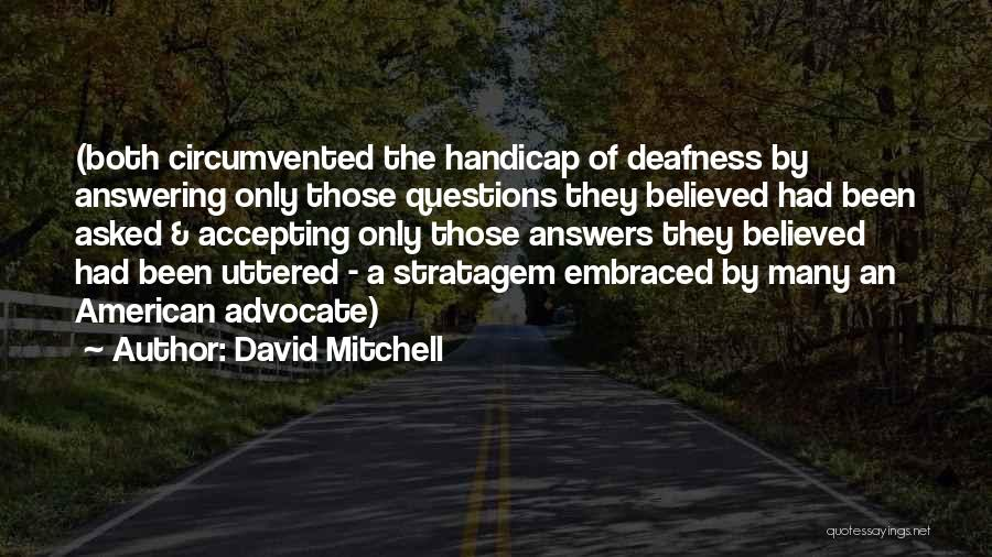 Rewriting Quotes By David Mitchell