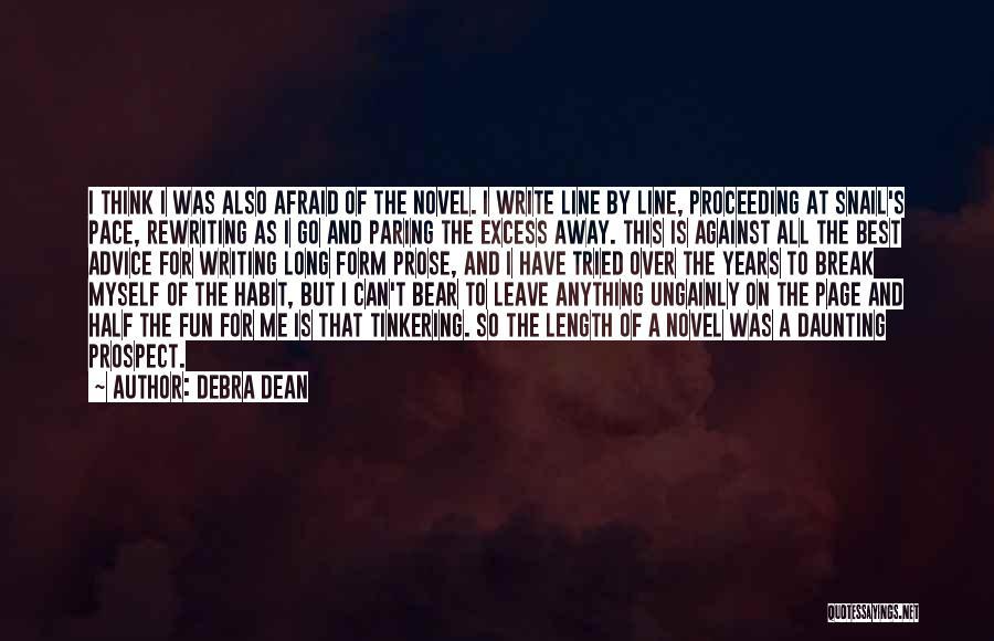 Rewriting Quotes By Debra Dean