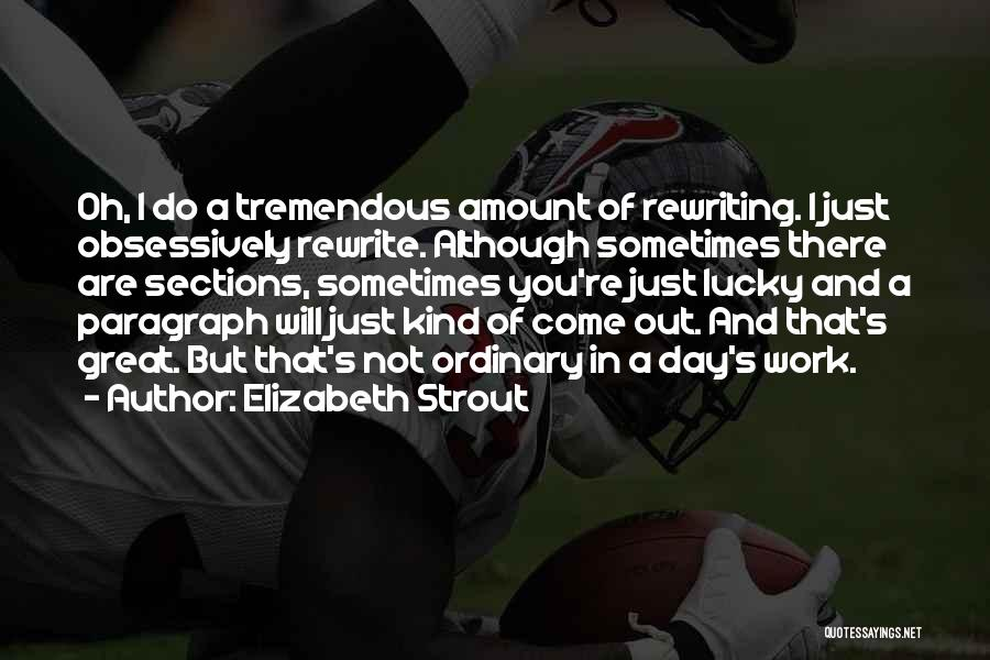 Rewriting Quotes By Elizabeth Strout
