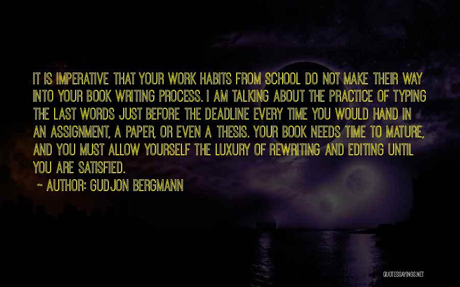 Rewriting Quotes By Gudjon Bergmann