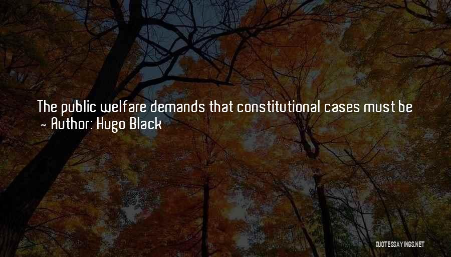 Rewriting Quotes By Hugo Black