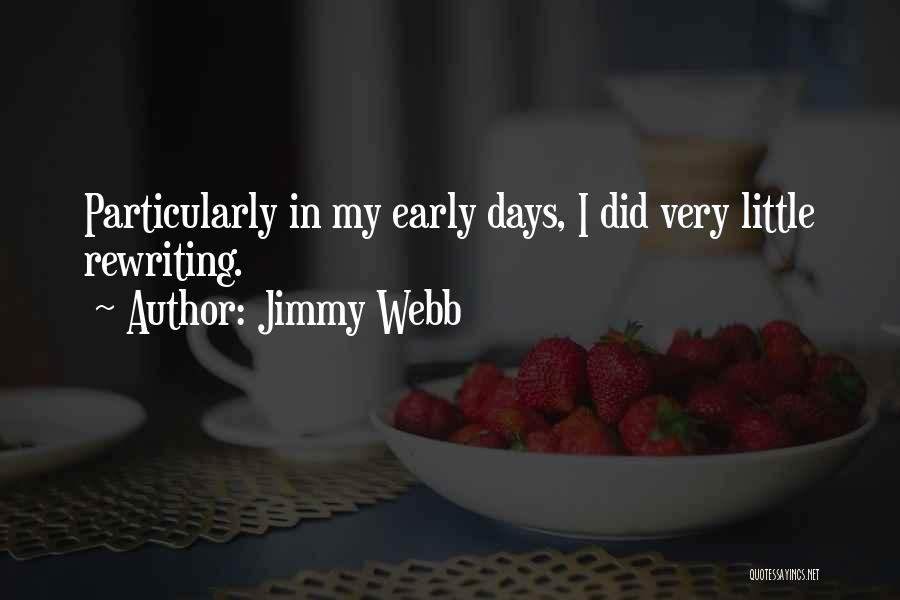 Rewriting Quotes By Jimmy Webb