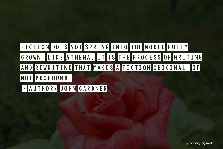 Rewriting Quotes By John Gardner