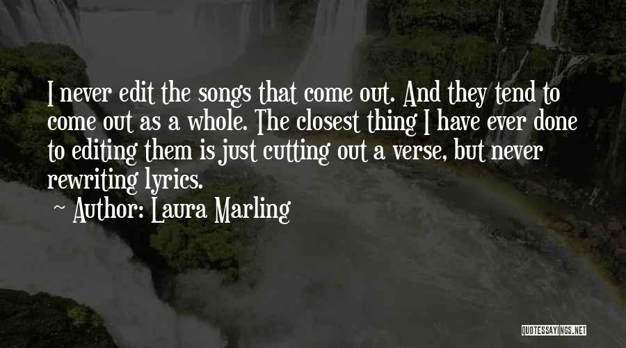 Rewriting Quotes By Laura Marling