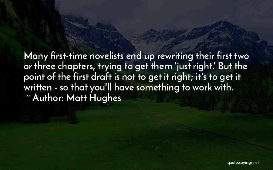 Rewriting Quotes By Matt Hughes