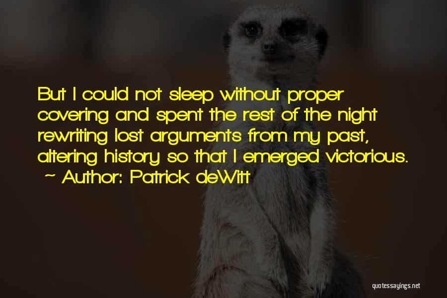 Rewriting Quotes By Patrick DeWitt