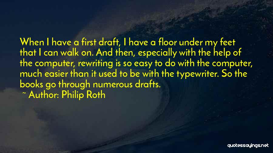 Rewriting Quotes By Philip Roth