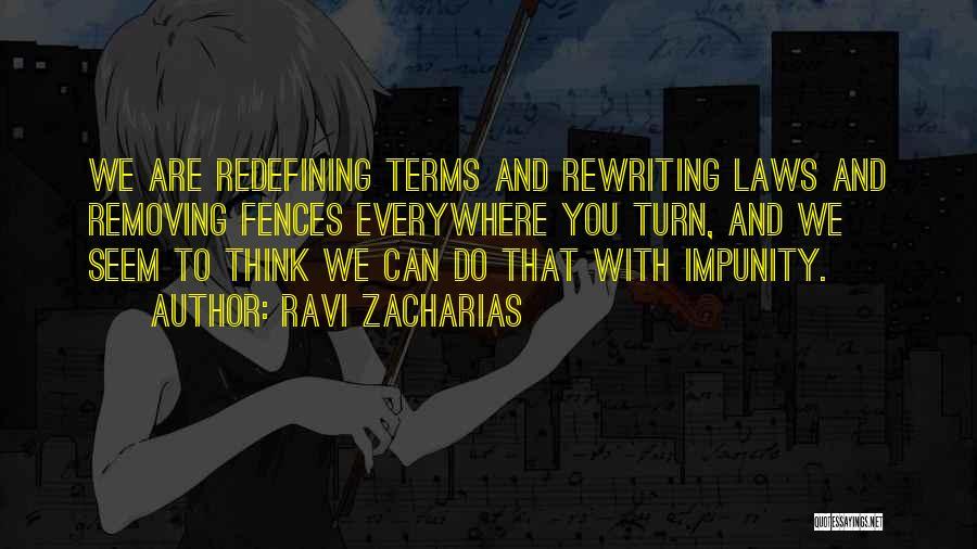 Rewriting Quotes By Ravi Zacharias