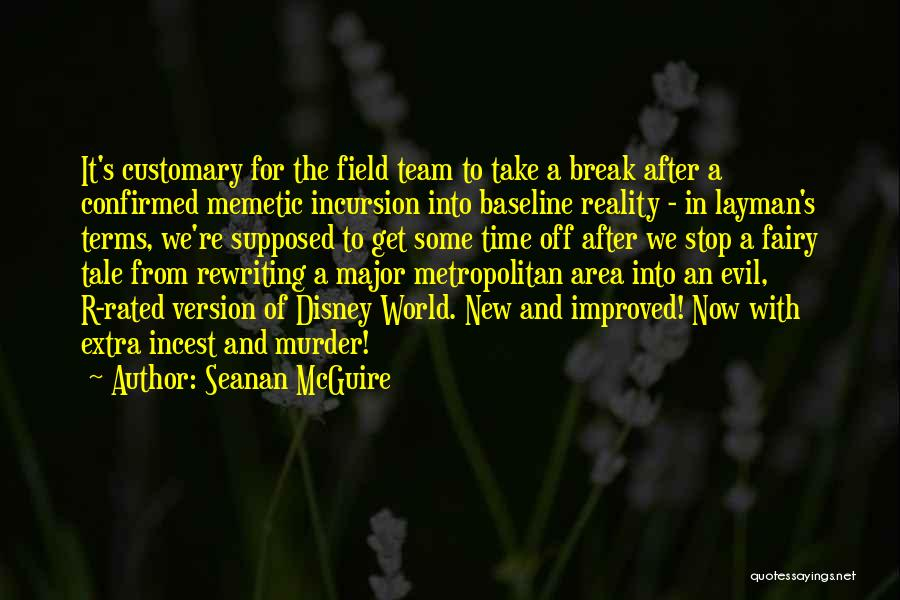 Rewriting Quotes By Seanan McGuire