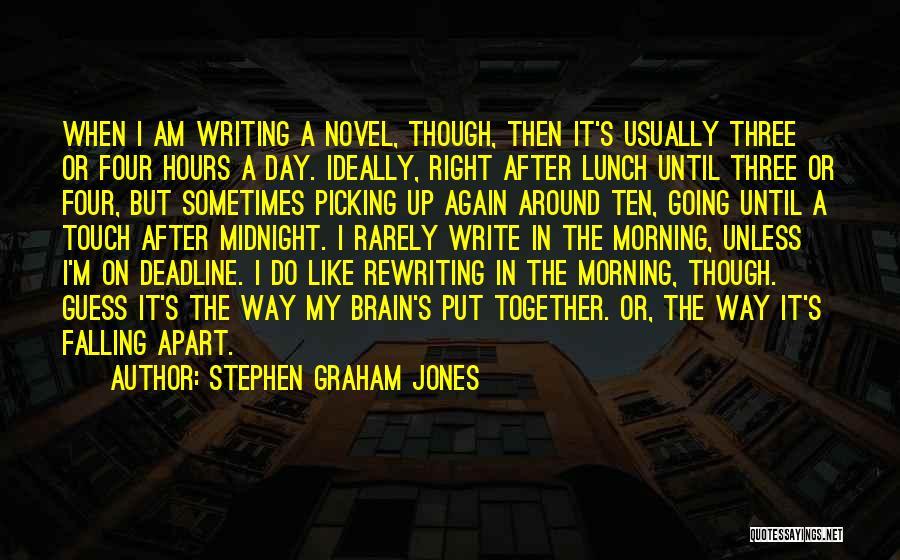 Rewriting Quotes By Stephen Graham Jones