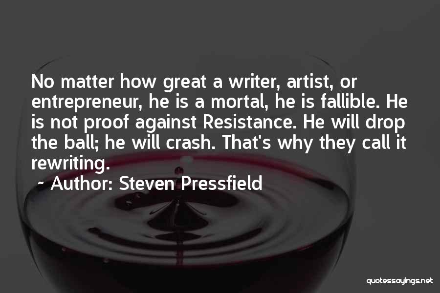 Rewriting Quotes By Steven Pressfield