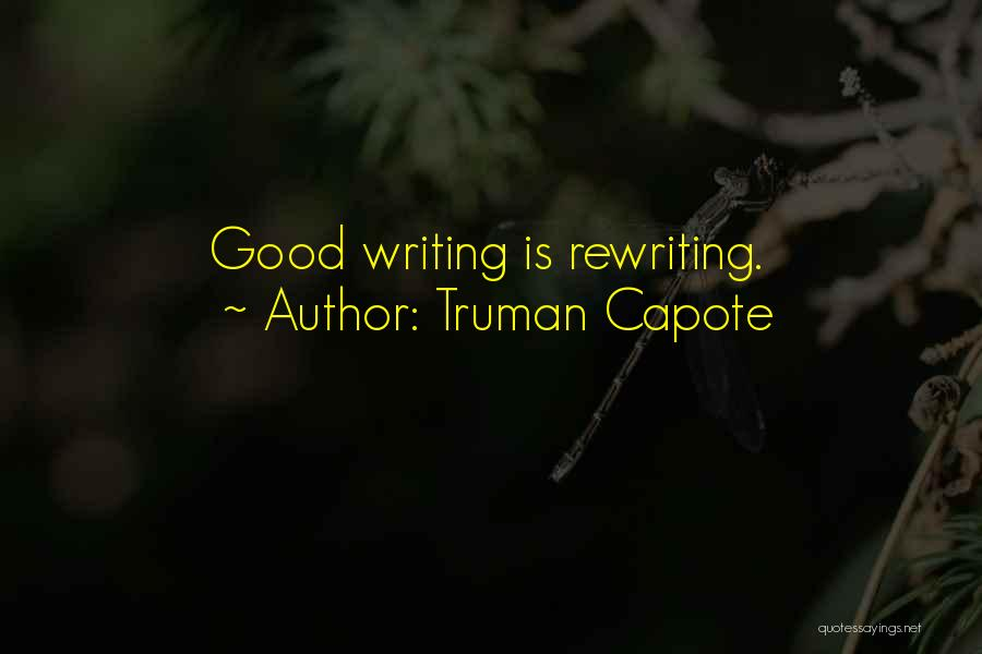 Rewriting Quotes By Truman Capote