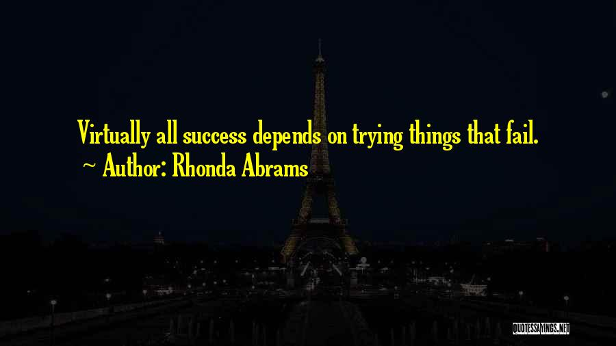 Rhonda Abrams Quotes 645015