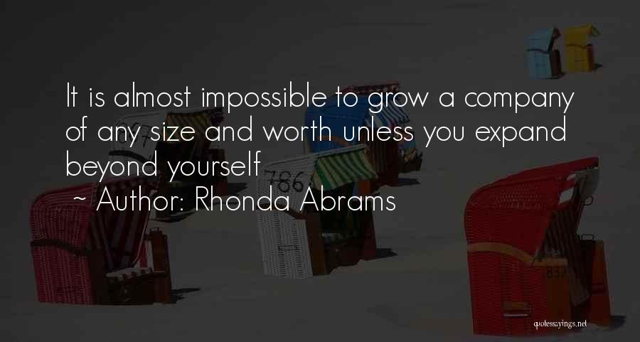 Rhonda Abrams Quotes 823350