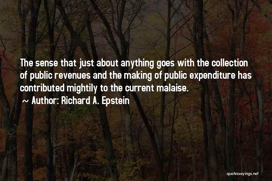 Richard A. Epstein Quotes 772565