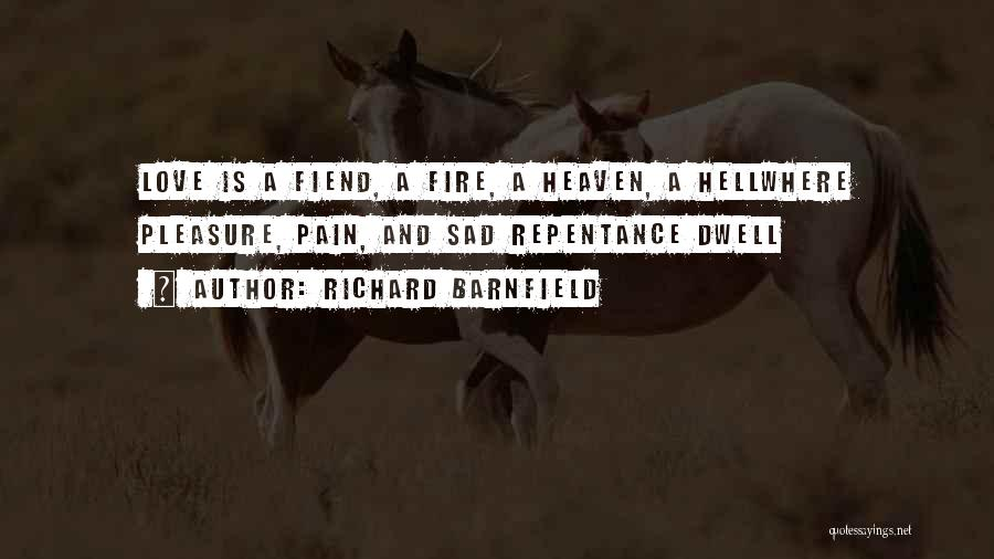 Richard Barnfield Quotes 2173396