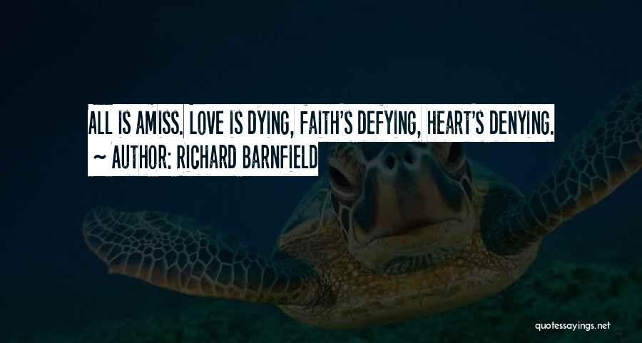 Richard Barnfield Quotes 336402