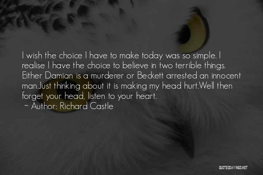 Richard Castle Quotes 1848370