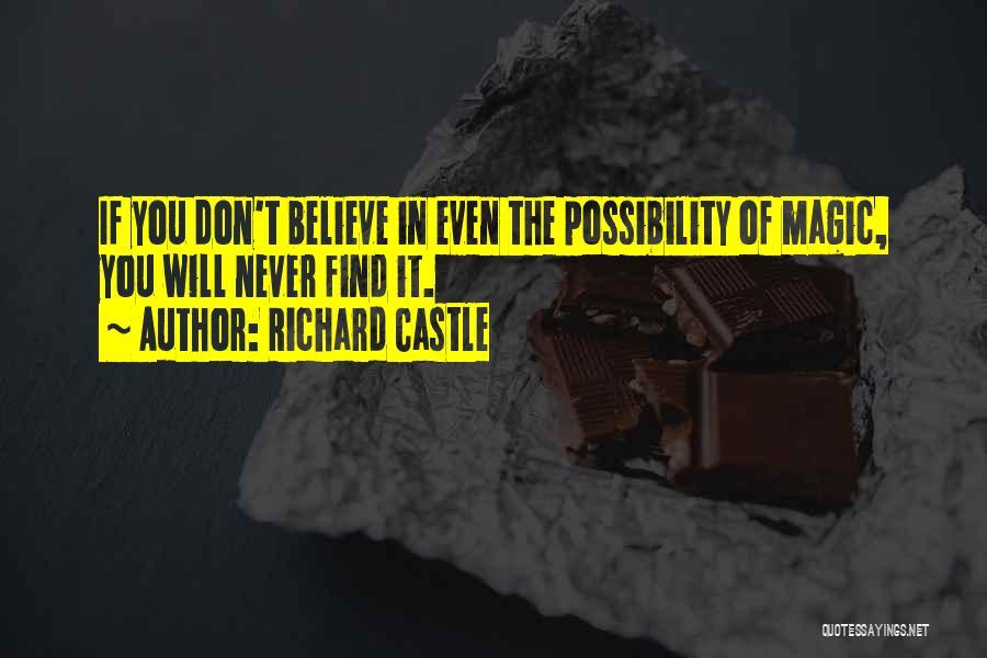 Richard Castle Quotes 1949253