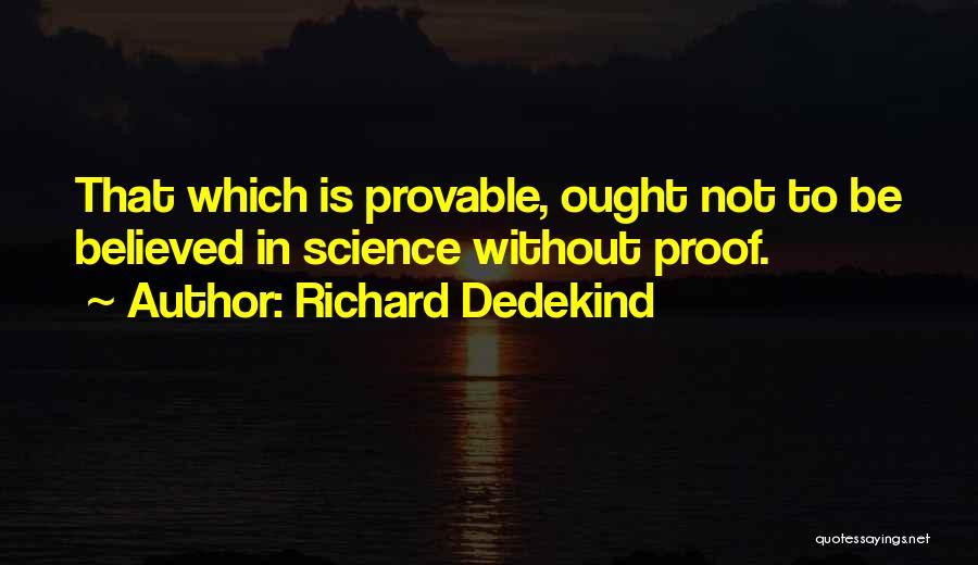 Richard Dedekind Quotes 484174