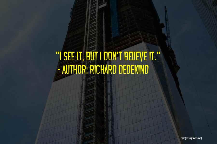 Richard Dedekind Quotes 644464