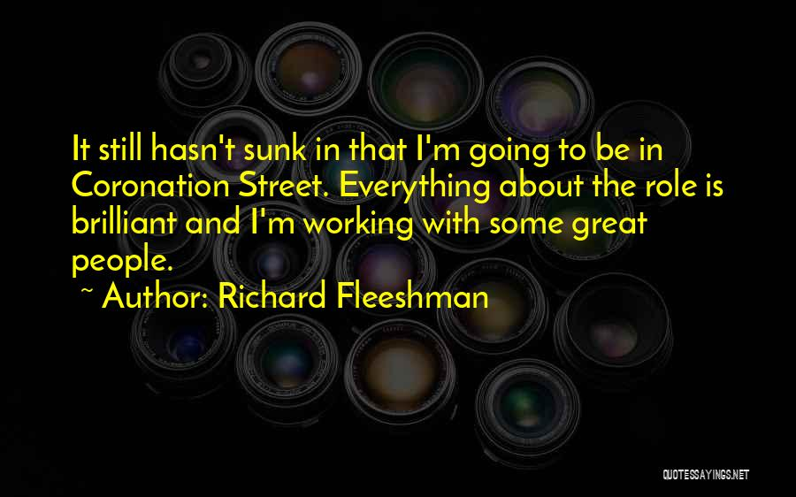 Richard Fleeshman Quotes 1077739