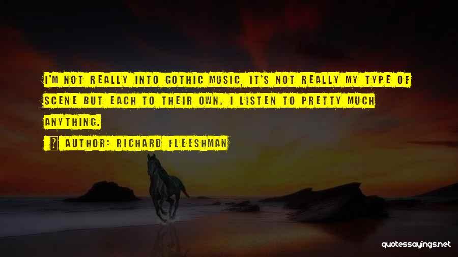 Richard Fleeshman Quotes 123757