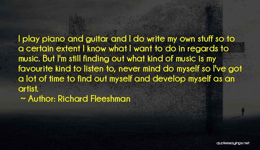 Richard Fleeshman Quotes 1264947