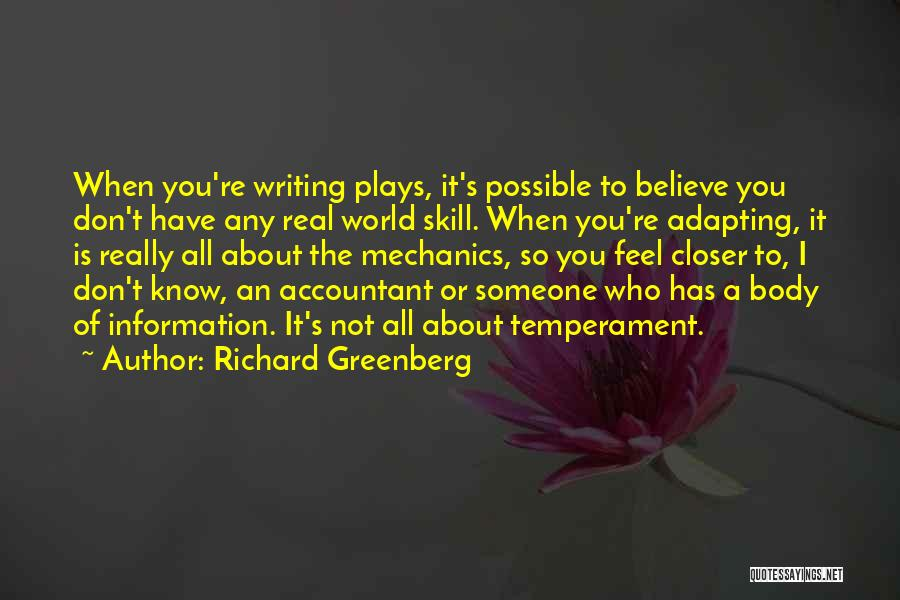 Richard Greenberg Quotes 1052486