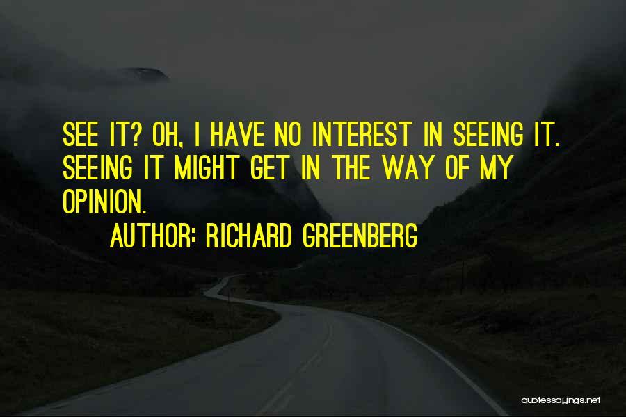 Richard Greenberg Quotes 243904
