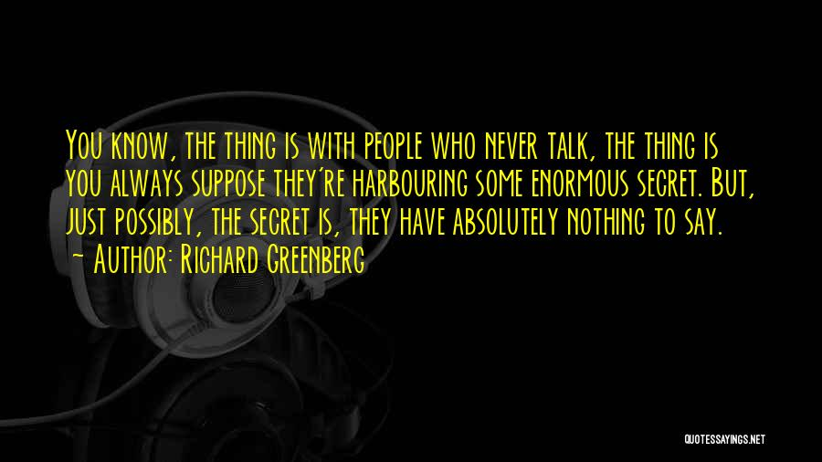 Richard Greenberg Quotes 522382