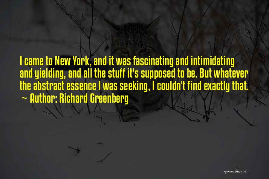 Richard Greenberg Quotes 586646